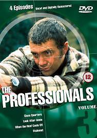 The Professionals - Vol. 3 (DVD) . FREE UK P+P .................................