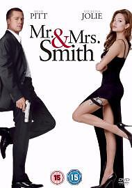 Mr And Mrs Smith - Action / Adventure DVD - Rating 15 - UK - 3160