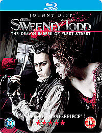 Sweeney Todd - The Demon Barber of Fleet Street (Blu-ray, 2008)