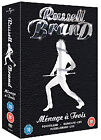 Russell Brand Menage A Trois Collection - Russell Brand - Live/Russell Brand - Doing Life - Live/Russell Brand - Ponderland (DVD, 2008, 3-Disc Set, Box Set)