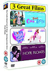 Female Drama Collection - The Truth About Cats And Dogs/Kissing Jessica Stein/Hope Floats (DVD, 2007, 3-Disc Set, Box Set)