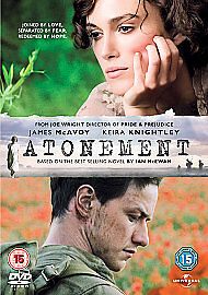 Atonement DVD 2008 - Ballymena, Antrim, United Kingdom - Atonement DVD 2008 - Ballymena, Antrim, United Kingdom
