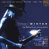 Johnny Winter  Return of Johnny Guitar Best of 19841986 1996 near mint cd - <span itemprop='availableAtOrFrom'>Ledbury, United Kingdom</span> - Johnny Winter  Return of Johnny Guitar Best of 19841986 1996 near mint cd - Ledbury, United Kingdom