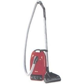 miele s251 flamenco ii red canister vacuum cleaner