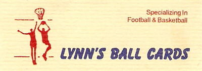 Lynn's Ballcards and Collectibles