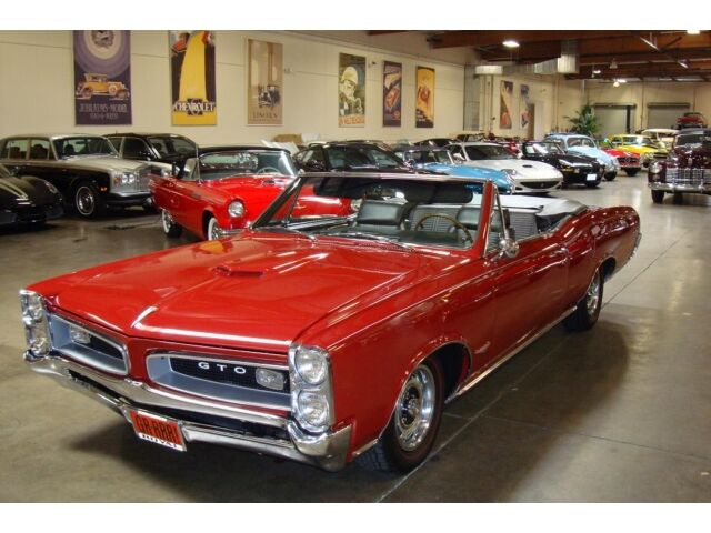 Fully Restored 1966 Pontiac Gto Tri Power 4 Speed Conv