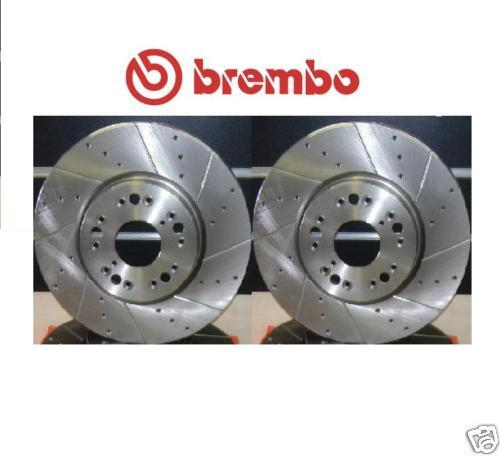 LEXUS IS200  IS300 GS430 SC430 BREMBO DRILLED GROOVED FRONT BRAKE DISC