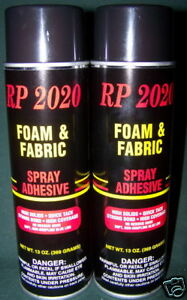 2 cans foam fabric glue spray adhesive quick tack ebay for Best glue for craft foam