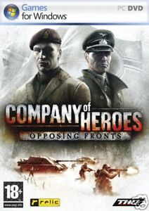 COMPANY OF HEROES OPPOSING FRONTS PC XP/VISTA BRAND NEW