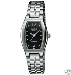 Casio-Womens-Bracelet-Watch-Black-Dial-Low-Shipping-LTP1254D-1A