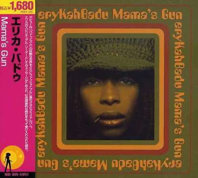 Erykah Badu Mama S Gun Japan Pressing Cd Sealed W  Rare Bonus Mix Usa Seller