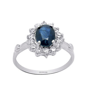 7x6mm-100-natural-sapphire-Sterling-Silver-Ring