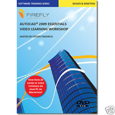 Autocad 2009 Video Training Tutorial 20 Hrs 112 Lessons