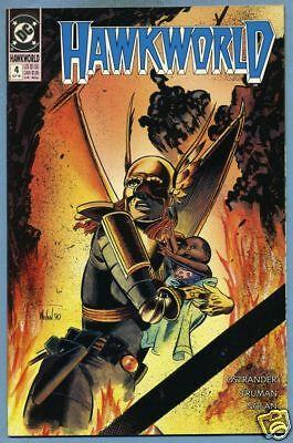 Hawkworld #4 1990 Hawkgirl Hawkman DC Comics