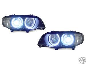DEPO-2000-03-BMW-E53-X5-UHP-LED-HALO-XENON-HID-D2S-HEADLIGHT-AUTO-LEVEL-CCFL