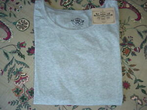 *NWT* Route 66 L//S Crew Stretch Layering Tee Gray  L