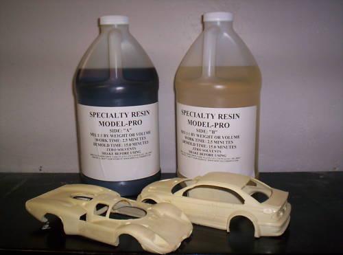 Model-pro Polyurethane Casting Resin 2 Gallon Kit