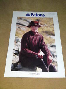 PATTONS-KNITTING-PATTERN-Serenade-C-4974