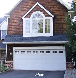 Faux Windaux Decorative Garage Door Windows Double Kit Ebay