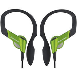 PANASONIC SPORTS CLIP HEADPHONE EARPHONES RUNNING GYM JOGGING IPOD IPHONE MP3 H3