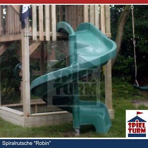 HOQ Spiralrutsche ROBIN Rutschbahn Wendelrutsche Spielturm Slide NEU