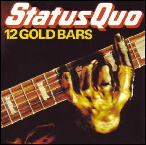 STATUS QUO - 12 GOLD BARS ~ GREATEST HITS / BEST OF CD ~ 70's HEAVY METAL *NEW*