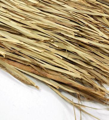 "ONE- 48""x 4' Tiki Hut Bar Grass Thatch Roll Palm Leaf Thatching"