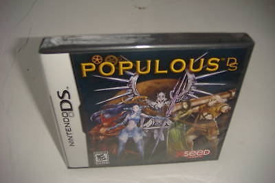 `populous Ds (nintendo Ds, 2008) Dsi Xl Ds Lite