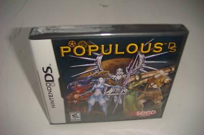 `populous Ds (nintendo Ds, 2008) Dsi Xl Ds Lite