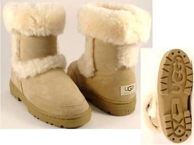 Ugg Australia Sundance Short Womens Boots Size 11 Sand Authentic Fast Ship