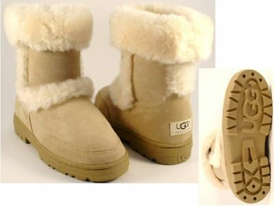 Ugg Australia Sundance Short Womens Boots Size 11 Sand Authentic Fast Ship