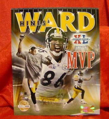 Pittsburgh Steelers Hines Ward Super Bowl Mvp Photo Nfl