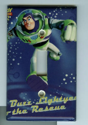 Buzz Lightyear Light Switch Plate Cover Toy Story 3