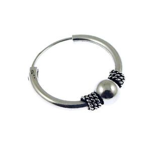 mens sterling silver hoop earrings new s 925 sterling silver style hoop earring ebay 9854