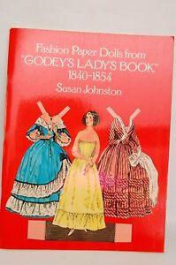 Paper Dolls GODEY'S Lady's BOOK 1840-1854 1977 Uncut