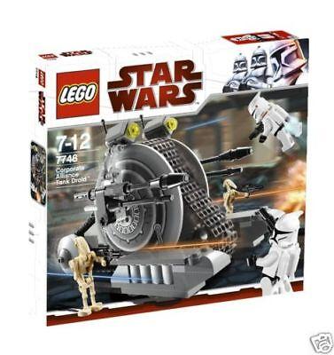 7748 Corporate Alliance Tank Droid Star Wars Lego New Legos Set Retired Nisb