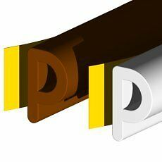 P-RUBBER-EPDM-STRIP-LONG-LIFE-DRAUGHT-EXCLUDER-WHITE