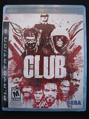 The Club  (Playstation 3, 2008) Like New!