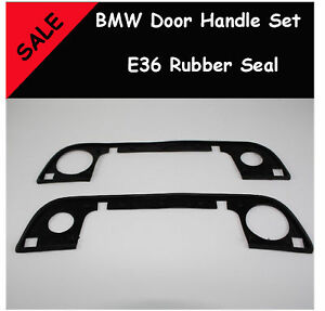 BMW-E36-2-Door-Handle-set-rubber-seal-316i-320i-m3
