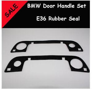 BMW E36 - 2 Door Handle set rubber seal 316i 320i m3