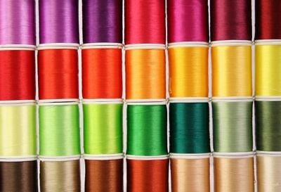 NEW 60 LARGE MACHINE EMBROIDERY THREAD & RACK 4 Brother