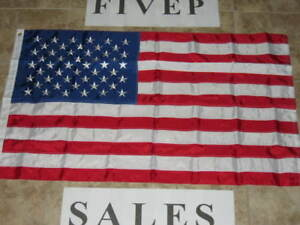 NEW-3X5-NYLON-AMERICAN-FLAG-EMBROIDERED-USA-FLAGS-US