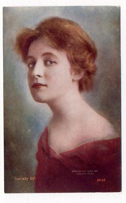 1907 Tammen Denver Post Lady National  Winner Postcard Pc4667