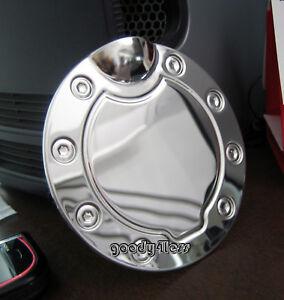 09 10 2010 Dodge Ram Chrome Gas Door Cover Fuel Cap Ebay