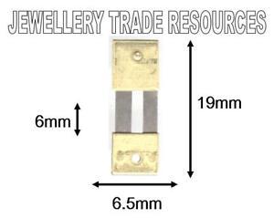 CLOCK SUSPENSION SPRING TOP QUALITY STEEL BRASS 19 mm