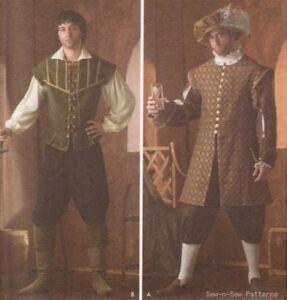 Mens-Medieval-Renaissance-Costume-SEWING-PATTERN-Hat