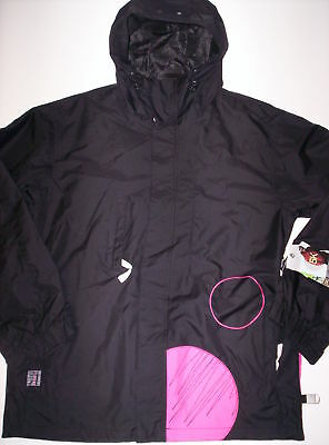 Quiksilver Men's Todd Richards Series Jacket Blk Large Reg $300.00