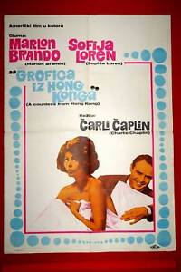 COUNTESS-FROM-HONG-KONG-CHAPLIN-SOPHIA-LOREN-1967-MARLON-BRANDO-YU-MOVIE-POSTER