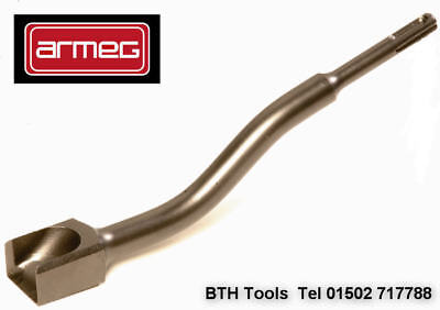 ARMEG SDS Plus 30mm Cranked Cable Channelling Brick/Block Chisel SDS+,G225B4CC30
