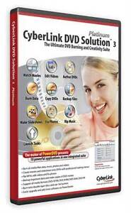 CYBERLINK DVD Solution 3 - Power Director Producer NEW